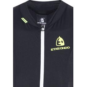 Etxeondo Maillot S/M Entzuna Sleeveless Jersey Women Black/Yellow Fluor